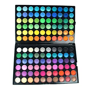 Bundle Monster 120 Full Color Pro Eye Shadow (Eyeshadow) Cosmetics Makeup Palette - Shimmer / Matte Combo
