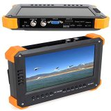 Seesii-X41T-7-TFT-LCD-Monitor-HD-TVIHDMIVGACVBS-Camera-Video-Test-Tester-12V-Out