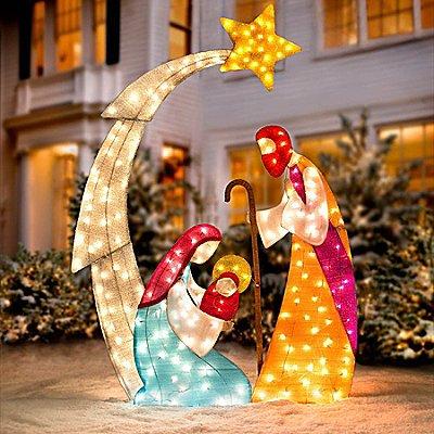Outdoor Nativity Sets on Backyard Decorations Amazon id=78825