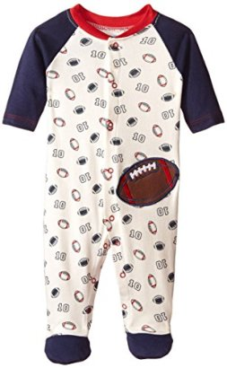 BON-BEBE-Baby-Boys-Snap-Front-Footed-Coverall