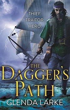 The Dagger's Path (The Forsaken Lands) by Glenda Larke| wearewordnerds.com