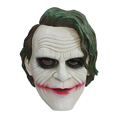 BFJ Joker Batman The Dark Knight Mask Adult Cosplay Resin Full Mask