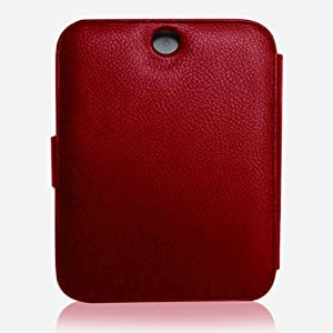 CaseCrown Regal Flip Case (Red) for Barnes & Noble All New NOOK, The Simple Touch Reader