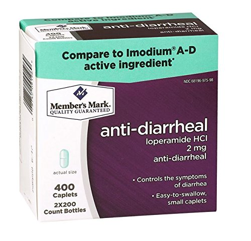 Members Mark Anti Diarrheal Caplets Compare To Imodium A