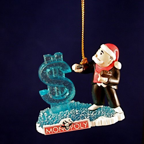 Monopoly Christmas ornament