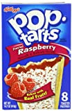 Pop-Tarts, Frosted Raspberry, 8-Count Tarts (Pack of 12)