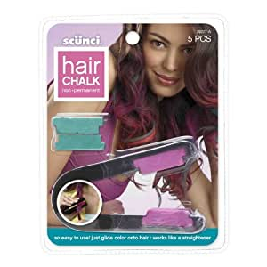 scunci hair chalk kit sold in packs of 3 beauty