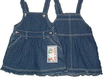 Infant-Sizes-12M18M24M-Cotton-Denim-Jumper-Dress-Prepack36-PCS-5-Boxes180-PCS-Assorted-Sizes
