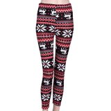 Ayliss-Damen-Schneeflocken-Winter-Leggins-Winterleggings-Warme-Leggings-Strumpf-hosen-One-size-verschiedene-Designs
