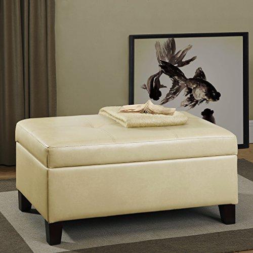 Living Room Ottoman Bench
