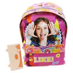 Disney-Soy-Luna-Smile-Mochila-Bolso-Escolar-Tiempo-Libre