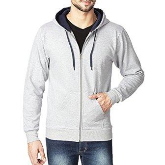 Rodid Full Sleeve Solid Men's Sweatshirt (B-HWSSWTZ-GM-S)