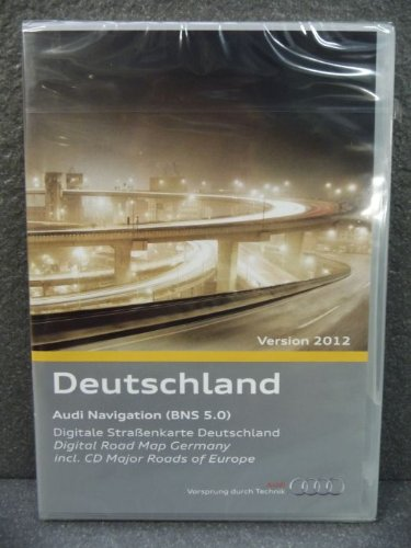 Audi Original Navigations CD Deutschland 2012 BNS 5.0