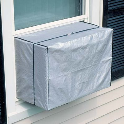 Evelots Indoor Air Conditioner Cover Keep Air Conditioner