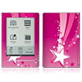 Pink Stars Design Protective Decal Skin Sticker for Sony Digital Reader Pocket PRS 600