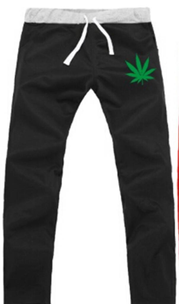 MINID Jamaican reggae skateboard pilot hemp leaf cool pants
