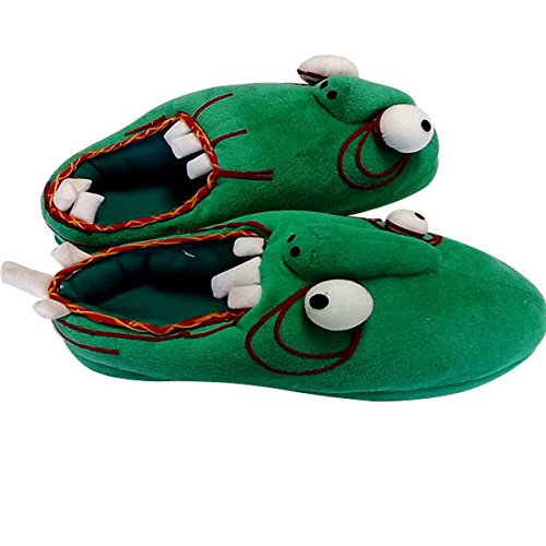 Costume Terror Zombie Plush Slippers for Man (6 - 7 US B(M))