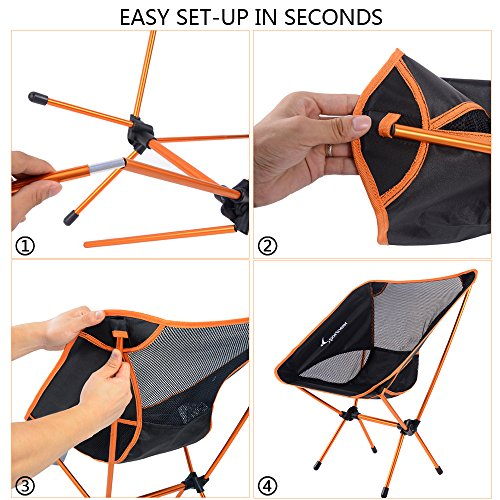 Sportneer Portable Lightweight Camping Chair For Hiking