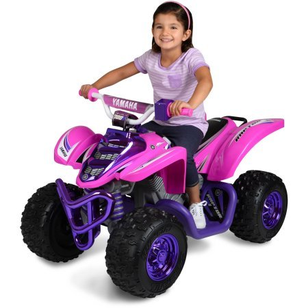 12V Raptor Girl Ride-On, Purple