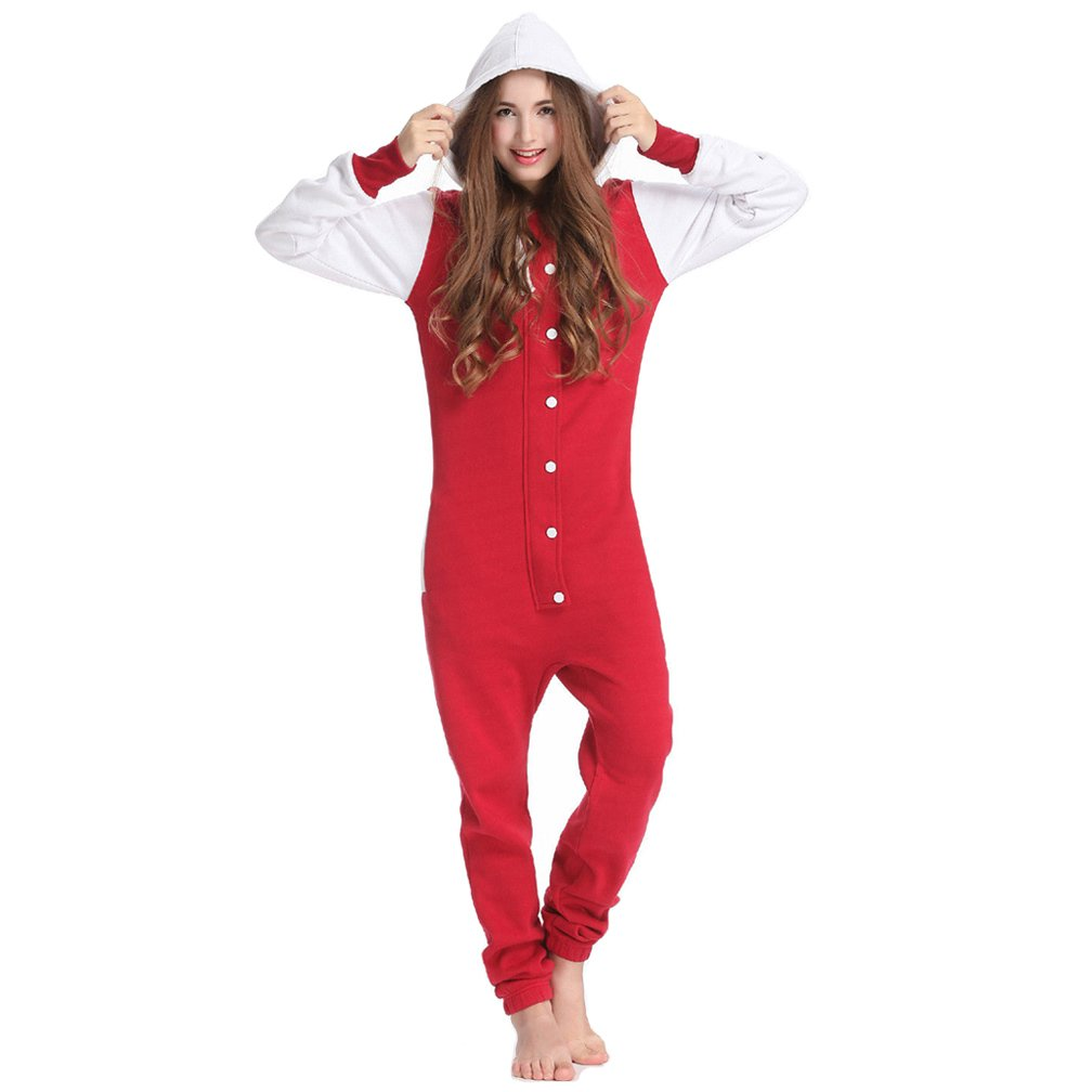 Unisex Adult Fashion Onesie Playsuit Jumpsuit one Piece Pajamas