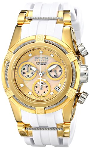 s 15282 bolt analog display swiss quartz white watch,video review,invicta women,(VIDEO Review) Invicta Women's 15282 Bolt Analog Display Swiss Quartz White Watch,