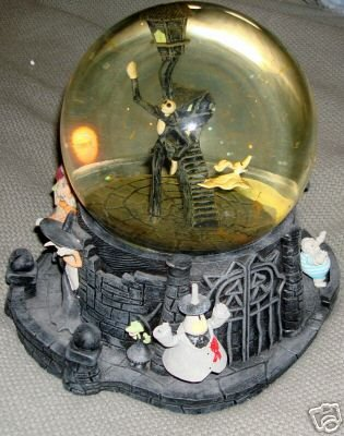 tim burton s the nightmare before christmas snow globes and - Nightmare Before Christmas Snow Globes
