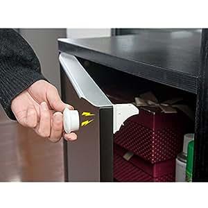 Amazon Com Ilovebaby Magnetic Cabinet Locks 4 Locks And