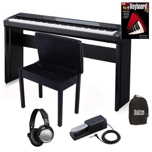 Kawai EP3 Digital Piano HOME BUNDLE w/ Furniture Stand & Wood Bench