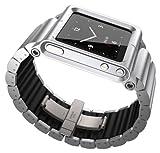 Lunatik LKSLV-010 Lynk Watch Wrist Strap for iPod Nano 6G - Silver