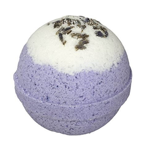 Relaxing Lavender Bubble Bath Bomb in Gift Box - By Two Sisters Spa - Made in the USA