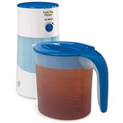 Mr. Coffee TM70 3-Quart Iced Tea Maker, 3-Quart