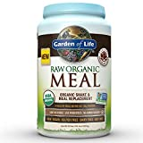 Garden of Life Organic Vegan Meal Replacement - Raw Plant Based Protein Powder, Chocolate, 35.9oz (2lb 4oz/1,017g) Powder