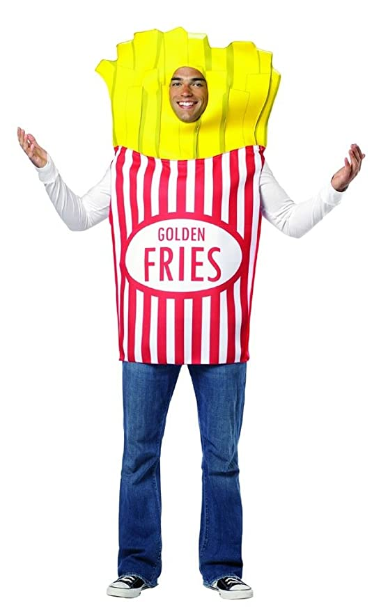 Rasta Imposta French Fries Adult, Multi, One Size
