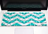TopCase Chevron Zig-Zag Silicone Keyboard Cover Skin for Macbook 13