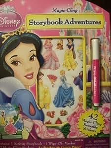 Amazon.com: Disney Princess Magic Cling Storybook ...