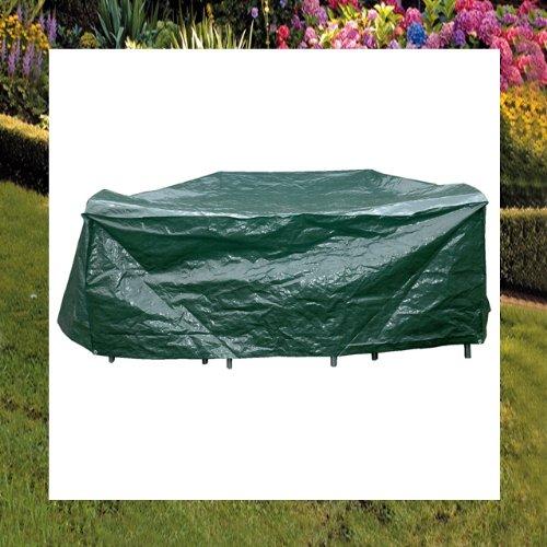 Schutzhülle für Sitzgruppe eckig 215x170cm Abdeckung Sitzgarnitur Gartenmöbel