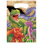 Creative Converting Dino Blast 8 Count Party Favor Loot Bags