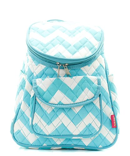 Red Book Bag And White Chevron
