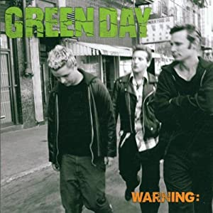 warning green day album cover