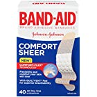 Band-Aid Adhesive Sterile Sheer Bandages, 40 Count