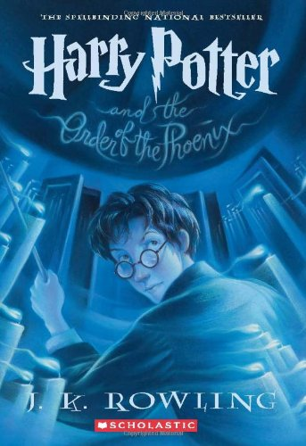 The cover of J.K. Rowling's Harry Potter and the Order of the Phoenix