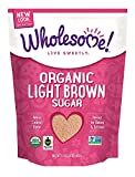 Wholesome Sweeteners, Organic Light Brown Sugar, 24 Oz