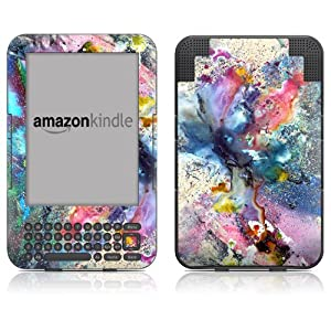 "DecalGirl Kindle Skin (Fits 6"" Display, Latest Generation Kindle) Cosmic Flower (Matte Finish)"