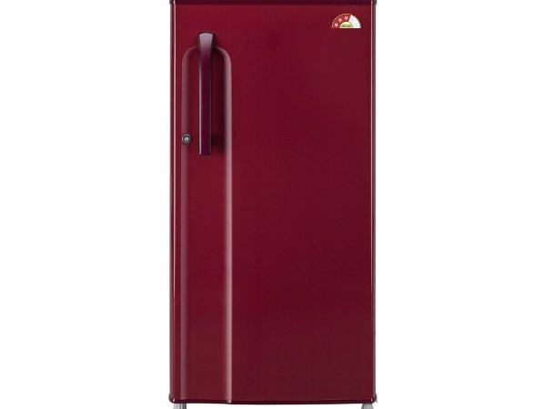 LG GL-B191KRLQ.ARLZEBN Direct-cool Single-door Refrigerator (188 Ltrs, 3 Star Rating, Ruby Luster)