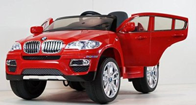 New-12v-Licensed-BMW-X6-Kids-Ride-on-Toy-Car-Doors-Music-Lights-Remote-Control