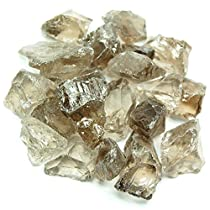 "Smokey Quartz Natural Chunks (Mostly 3/4"" - 1-1/4"") - 10pc. Bag"