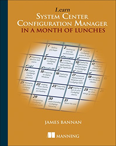 Learn ConfigMgr 2012 in a Month of Lunches