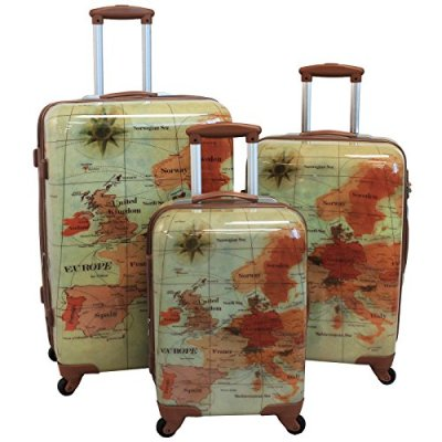 The Euro 3 Piece Luggage Set