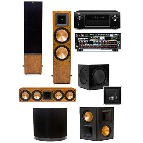sw-115 denon avr-x4000,1 home theater system,klipsch rf-7 ii 5,video review,cherry,(VIDEO Review) Klipsch RF-7 II 5.1 Home Theater System(Cherry) SW-115 Denon AVR-X4000,