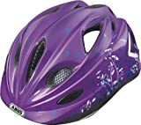 ABUS Kinder Fahrradhelm Super Chilly, Garden purple, 52-57 cm